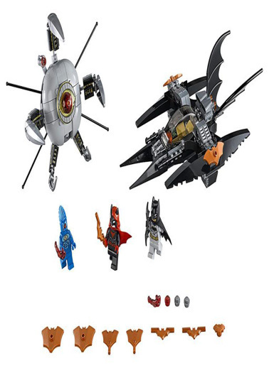 Lego Lego Super Heroes Batman: Brother Eye Parçalama 76111 Renkli